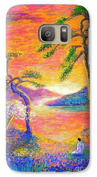 Buddha Meditation, All Things Bright And Beautiful Galaxy S7 Case