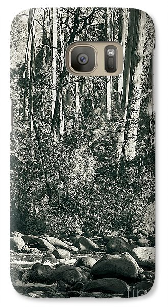 Galaxy Case featuring the photograph All Was Tranquil by Linda Lees