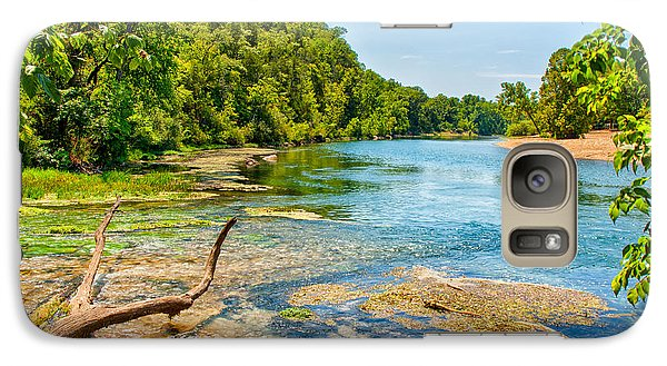 Galaxy Case featuring the photograph Alley Springs Scenic Bend by John M Bailey