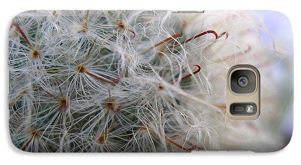 Galaxy Case featuring the photograph Allium Sativum by Jolanta Anna Karolska