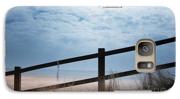 Galaxy Case featuring the photograph Almost At The Beach by Jan Bickerton