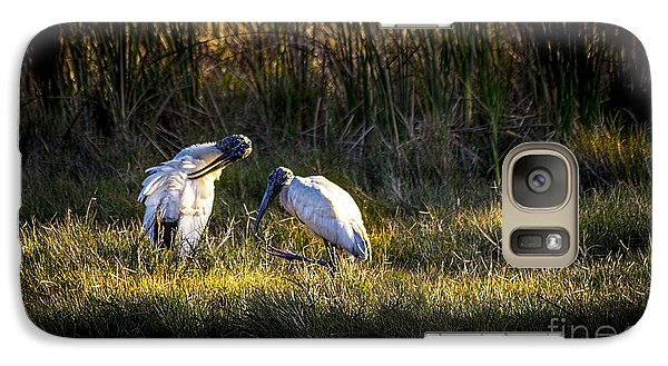 Spoonbill Galaxy S7 Case - Almost Bed Time by Marvin Spates