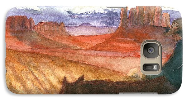 Galaxy Case featuring the painting Almost Home by Eric Samuelson