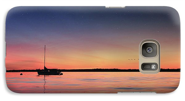 Galaxy Case featuring the photograph Almost Paradise by Lori Deiter