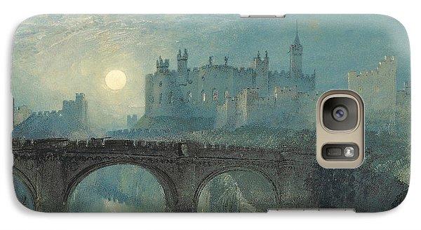 Alnwick Castle Galaxy S7 Case by Joseph Mallord William Turner