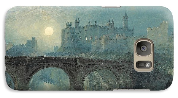 Alnwick Castle Galaxy S7 Case by Joseph Mallord William Turner