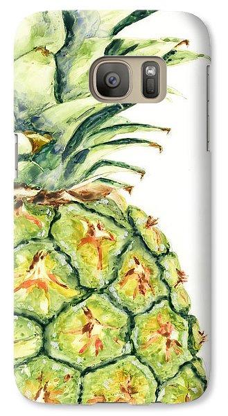 Aloha Again Galaxy Case by Marsha Elliott