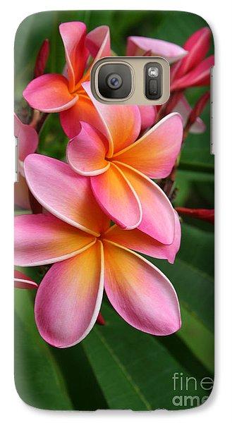 Aloha Lei Pua Melia Keanae Galaxy S7 Case by Sharon Mau