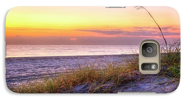 Galaxy Case featuring the photograph Alone At Dawn by Debra and Dave Vanderlaan