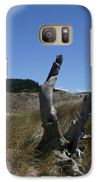 Galaxy Case featuring the photograph Alone At Last by Marie Neder