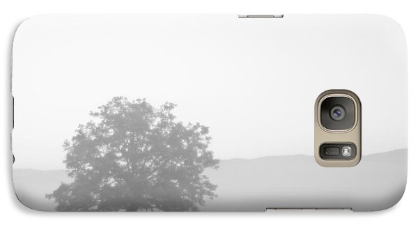 Galaxy Case featuring the photograph Alone by Bob Decker