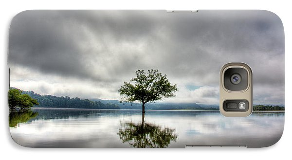 Galaxy Case featuring the photograph Alone by Douglas Stucky