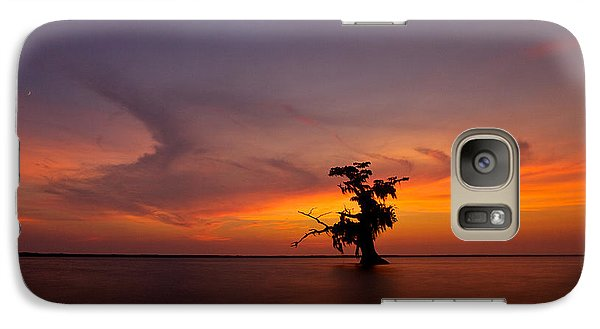 Galaxy Case featuring the photograph Alone by Evgeny Vasenev