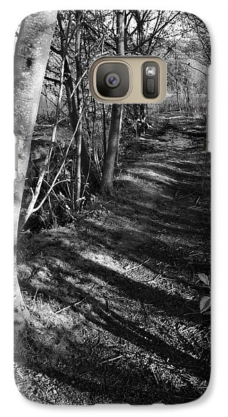 Galaxy Case featuring the photograph Alone by Joanne Coyle