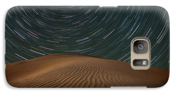 Galaxy Case featuring the photograph Alone On The Dunes by Darren White