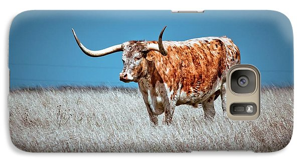 Galaxy Case featuring the photograph Alone On The Trail by Linda Unger