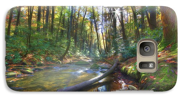 Galaxy Case featuring the digital art Along The Trail In Georgia by Sharon Batdorf