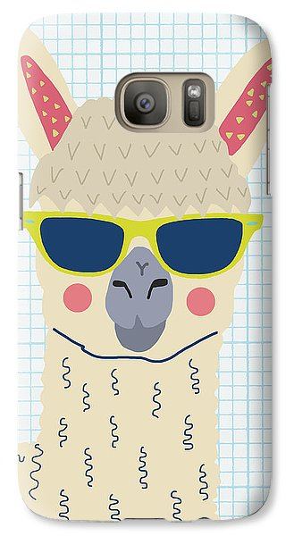 Alpaca Galaxy S7 Case by Nicole Wilson
