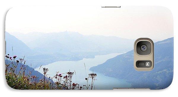 Alpine Flora On Top Of Schynige Platte Galaxy S7 Case