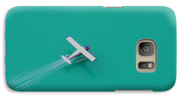 Galaxy Case featuring the photograph Alpine Lake Landing by Mark Alan Perry