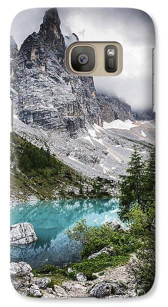 Galaxy Case featuring the photograph Alpine Lake by Yuri Santin