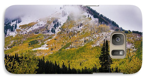 Galaxy Case featuring the photograph Alpine Loop Autumn Storm - Wasatch Mountains  by Gary Whitton
