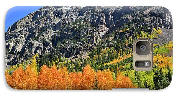 Galaxy Case featuring the photograph Alpine Loop Road Aspens by Ray Mathis