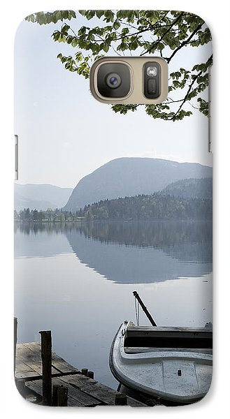 Galaxy Case featuring the photograph Alpine Moods by Ian Middleton