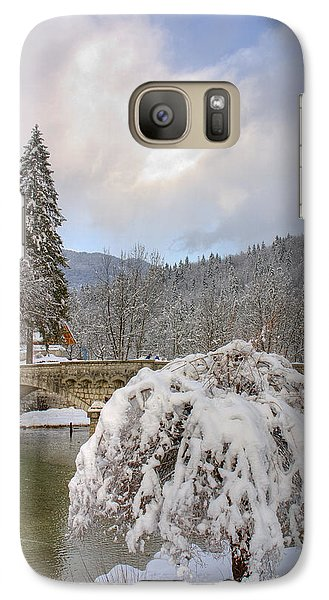 Galaxy Case featuring the photograph Alpine Winter Beauty by Ian Middleton
