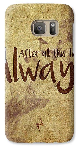 Wizard Galaxy S7 Case - Always by Samuel Whitton