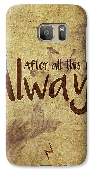 Wizard Galaxy S7 Case - Always by Samuel Whitton