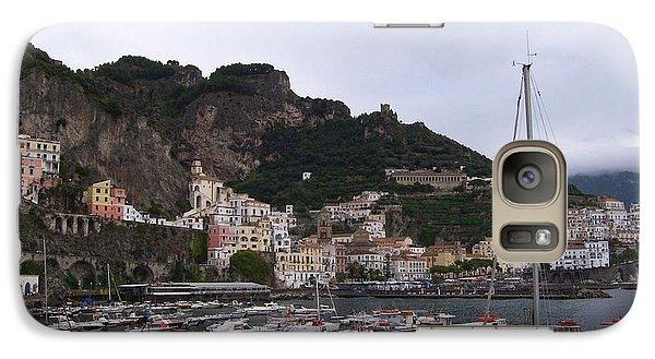 Galaxy Case featuring the photograph Amalfi Coast by Judy Kirouac