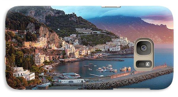 Amalfi Sunrise Galaxy S7 Case by Brian Jannsen