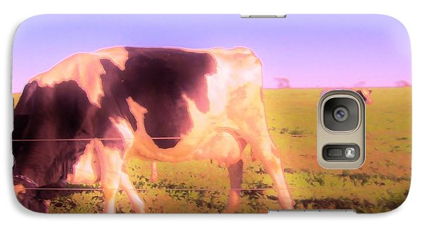 Galaxy Case featuring the photograph Amazing Graze by Susan Carella