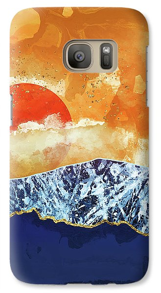 Landscapes Galaxy S7 Case - Amber Dusk by Katherine Smit