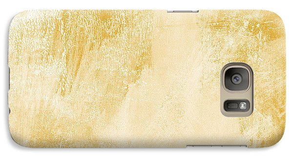 Amber Waves Galaxy S7 Case by Linda Woods