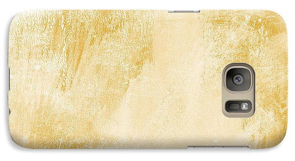 Amber Waves Galaxy Case by Linda Woods