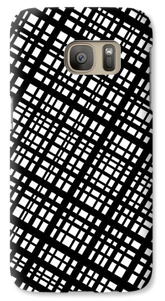 Galaxy Case featuring the digital art Ambient 35 by Bruce Stanfield