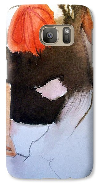 Galaxy Case featuring the painting Amelie by Ed  Heaton