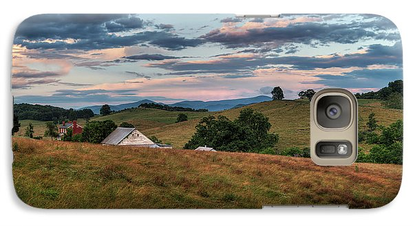 Galaxy Case featuring the photograph America - Hills Of Virginia 001 by Lance Vaughn