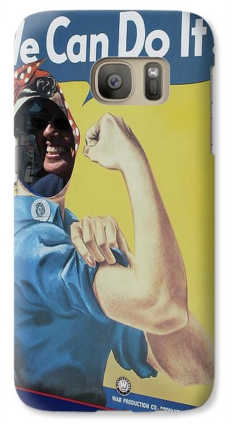 Galaxy Case featuring the photograph America The Strong by John King