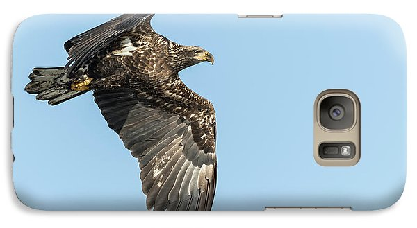 Galaxy Case featuring the photograph American Bald Eagle 2017-17 by Thomas Young