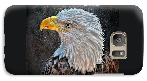 Galaxy Case featuring the photograph American Bald Eagle by Savannah Gibbs