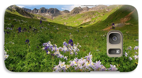 Galaxy Case featuring the photograph American Basin by Steve Stuller