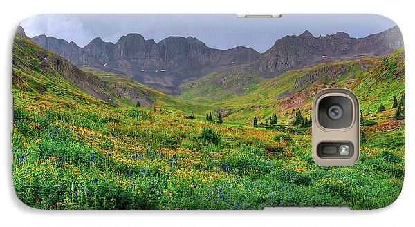 Galaxy Case featuring the photograph American Basin Summer Storm by Teri Atkins Brown