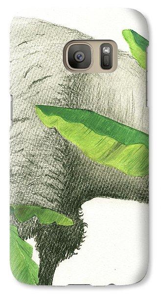 Banana Galaxy S7 Case - American Buffalo 2 by Juan Bosco