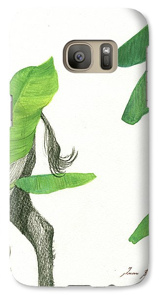Banana Galaxy S7 Case - American Buffalo 3 by Juan Bosco