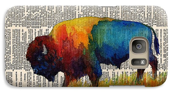American Buffalo IIi On Vintage Dictionary Galaxy S7 Case