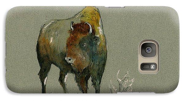American Buffalo Galaxy Case by Juan  Bosco