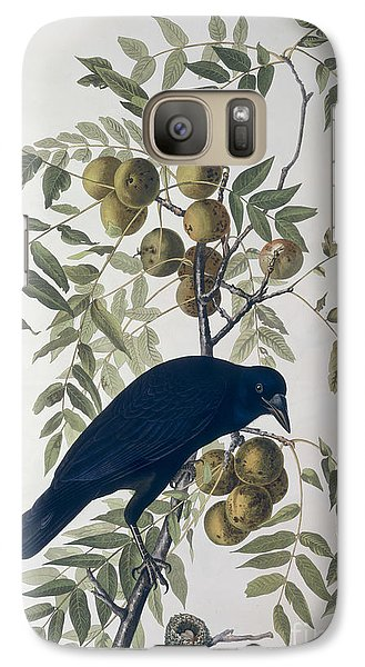 American Crow Galaxy Case by John James Audubon